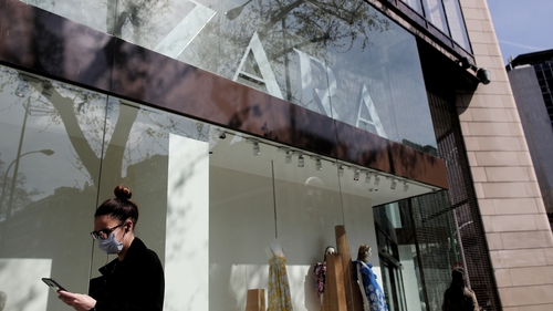 The owner of Zara, Massimo Dutti and Bershka said 98% of its stores were open again