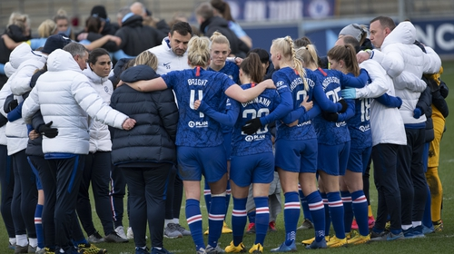 Chelsea were awarded the 2019-20 WSL title on a basic points-per-game basis