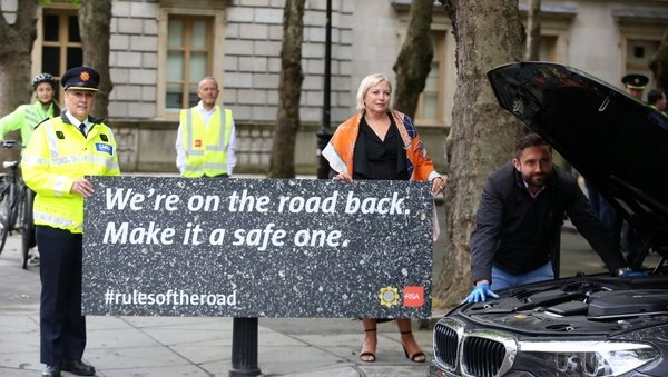 The campaign was launched by gardaí and the Road Safety Authority