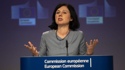 CommissionerVera Jourova said there cannot be weak links in the battle against corruption and money laundering