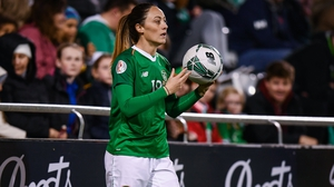 Megan Campbell is determined to get back in action