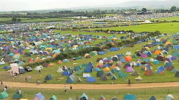 Féile Campsite in Thurles