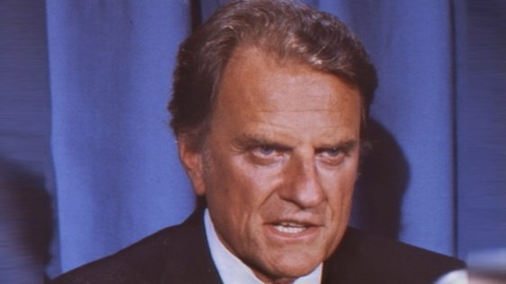 American Evangelist Billy Graham (1985)