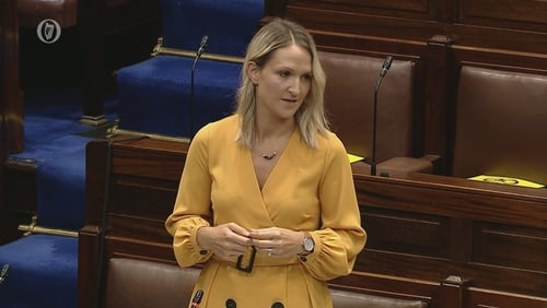 Helen McEntee said that Government departments are now re-engaging with industries and businesses