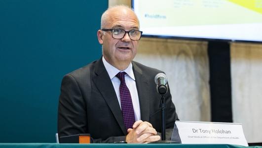 Dr. Tony Holohan steps away from CMO duties