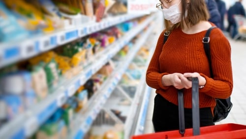 October marked the biggest month for grocery sales since the height of the previous lockdown in June, new figures show