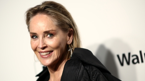 Sharon Stone stars on The Late Late Show