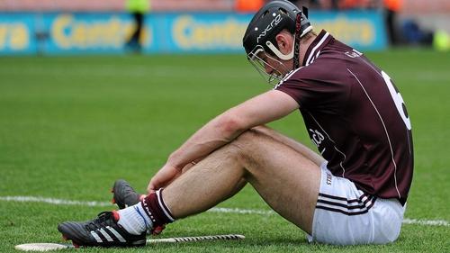 Regan endured some tough days through his Galway career, but none tougher than when it was taken away from him