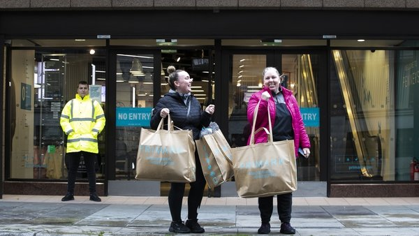 All stores will have extended trading hours in order to meet pent up demand during the pre-Christmas period (Pic: RollingNews.ie)