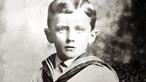 James Joyce, aged six, circa 1888