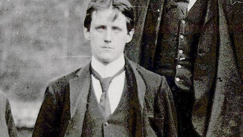 James Joyce whose early collection, Dubliners, is represented by An Encounter in Philip Hensher's latest anthology of stories