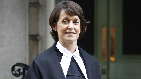 High Court President Ms Justice Mary Irvine