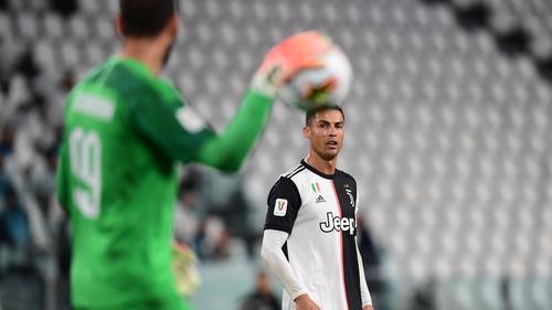 Coppa line-ups: Juventus v Milan