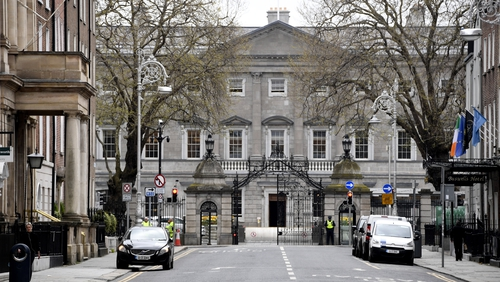 Both parties announced the plans at Leinster House