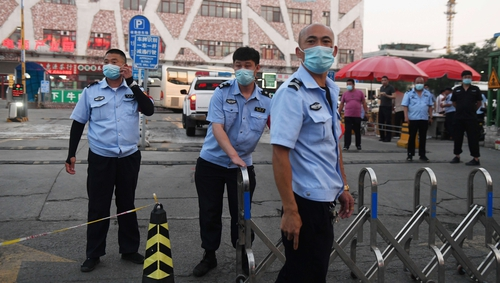 Infections are up in some other parts of the world that have reopened after lockdown (file pic)