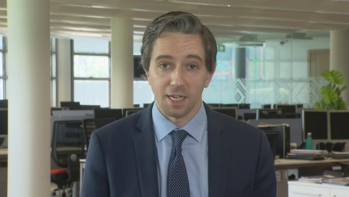 Simon Harris said measures will also be considered for schools and will be led by public health guidance