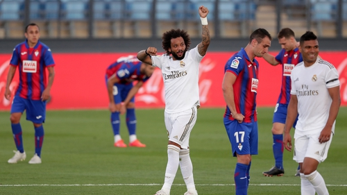 Marcelo looks set to line out for Real Madrid against Chelsea
