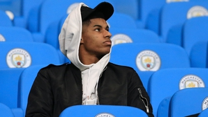 Marcus Rashford:  'What families are going through now, I've once had to go through that - and it's very difficult to find a way out.'