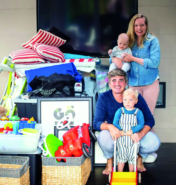 Donal Skehan and family