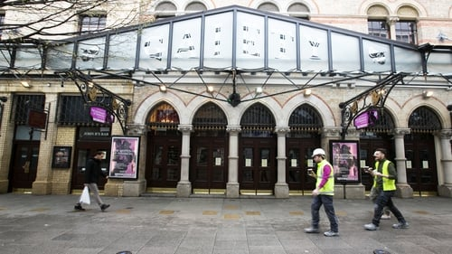 Gaiety Theatre in Dublin has been closed since restrictions were introduced