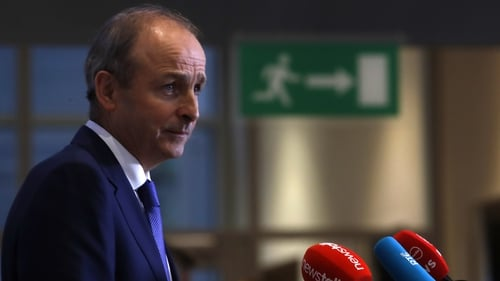 Fianna Fáil leader Micheál Martin is set to be named Taoiseach later this month (Pic RollingNews.ie)