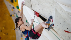 Luce Douady pictured at the European Youth Championships in Munich in 2018