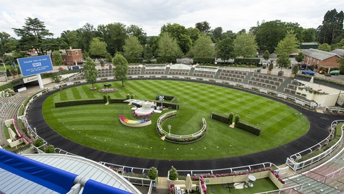 Ascot would usually welcome 300,000 racegoers through its doors across this week's five-day showpiece meeting