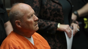James DeAngelo pictured at a court hearing in 2018