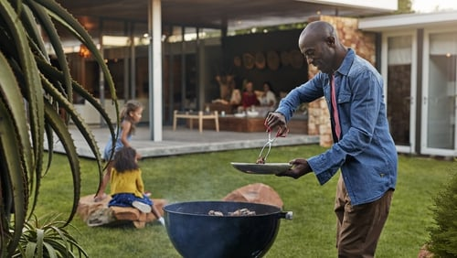 How can you get the barbie going and feed your friends and family safely?