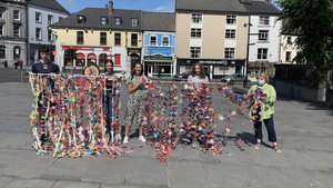 Weavers display their work in Kilkenny