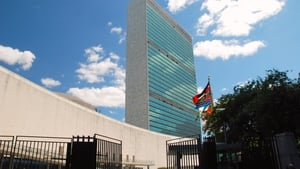Votes were cast at the UN headquarters in New York