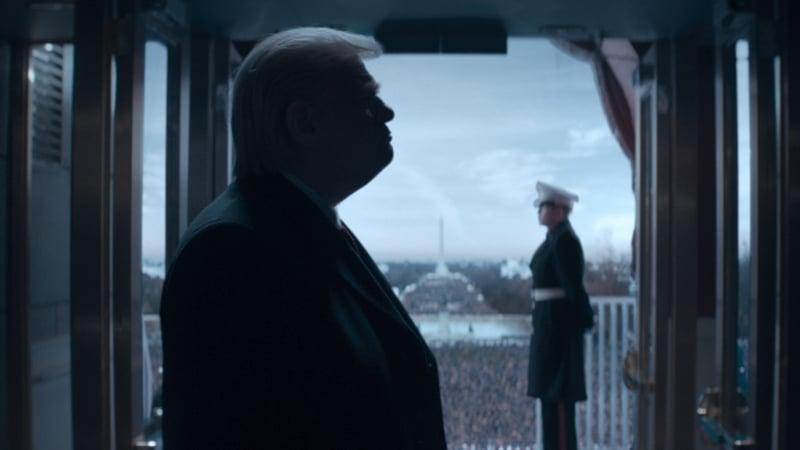 Brendan Gleeson as Donald Trump. Picture courtesy of CBS Television Studios/Showtime
