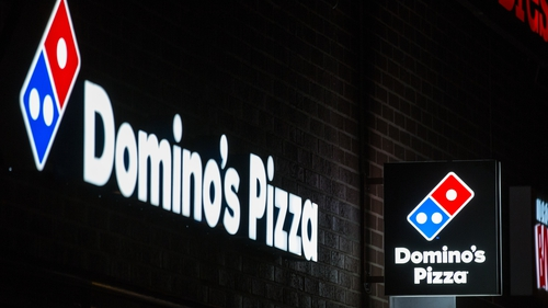Domino's said today that supply chain issues and rising wages were starting to impact the business