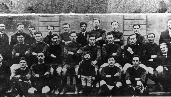 The Wexford Gaelic football team who won the delayed 1918 All-Ireland football final against Tipperary. Photo: GAA