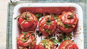 Pilaf-Stuffed Tomatoes