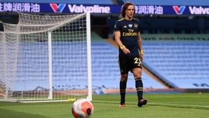 David Luiz was sent off against Manchester City last week