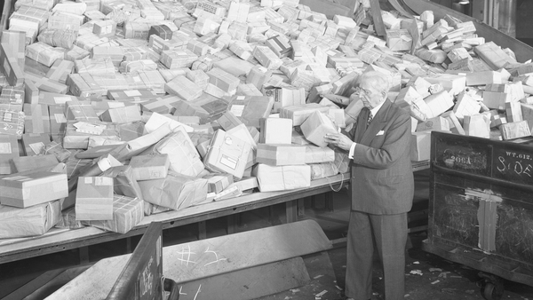 """By 1909, the London Great Central Parcels Office complained that it didn't have enough room in their ""cold storage safe"" for all the poorly labelled turkeys, which got lost in transit."" Photo: Getty Images"