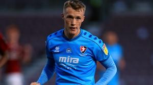 Jake Doyle-Hayes created Cheltenham's first goal