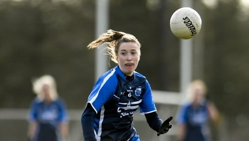 Karen McGrath in action in this year's Lidl National League
