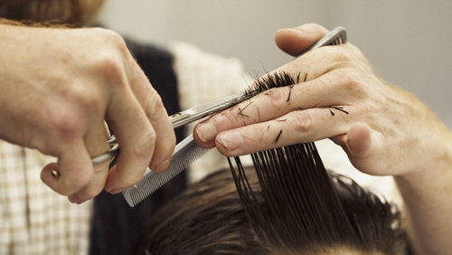 Spending by hairdressers and barbers yesterday was up 72% versus the daily average prior to the arrival of Covid-19 restrictions