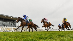 Lemista (L) winning at Naas in March