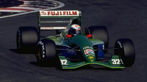 Alex Zanardi raced three times for Jordan in 1991
