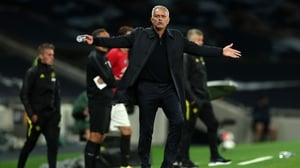 Jose Mourinho had words to say about the referee and the VAR officials