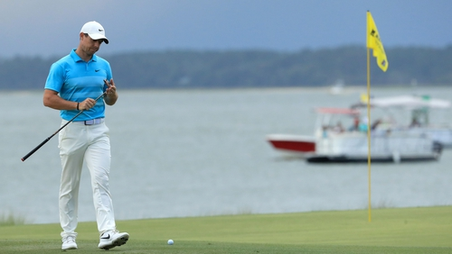 Rory McIlroy carded a 65 at Harbour Town Golf Links