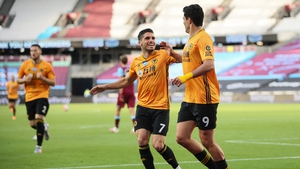 It's a victory which lifts Wolves up to sixth, level on points with Manchester United, while West Ham are now in serious peril at the opposite end of the table