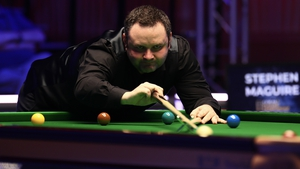 Stephen Maguire hit six centuries in his win over Neil Robertson