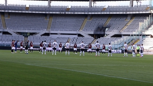 Torino and Parma players remembered those who lost their lives due to Covid-19 prior to kick-off