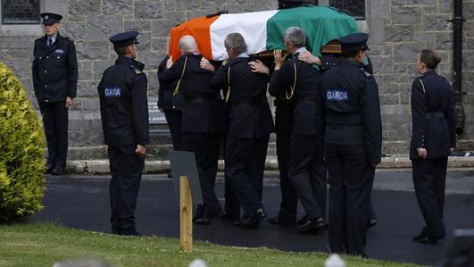 Funeral Of Detective Garda Colm Horkan