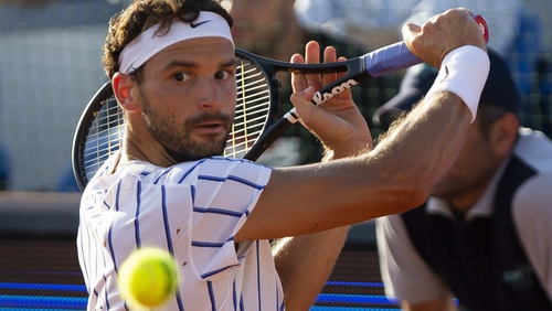 After playing tournament with top players, Grigor Dimitrov is Covid-19 positive