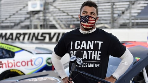 Bubba Wallace said it was a 'despicable act of racism and hatred'